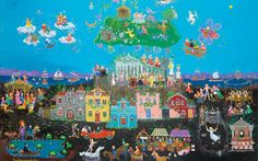 Naive Art, Painting, Painting Art, Paintings, Painted Canvas, Drawings