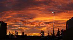 Friday morning sunrise