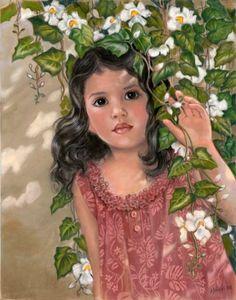 'Through The Flower Curtain' by Mary Koski (American)