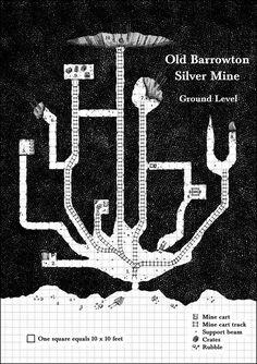 Barrowton Silver Mine - Level 1 by Brian-van-Hunsel on DeviantArt