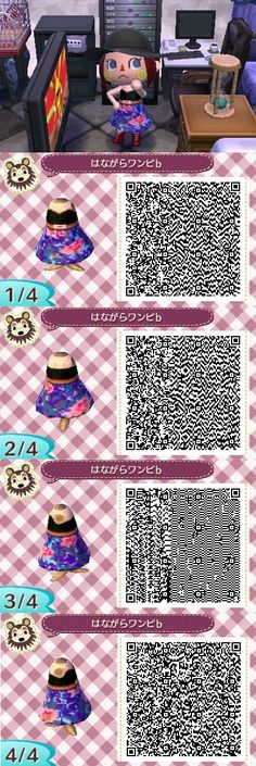 Animal Crossing: New Leaf QR code for Korra's Water Tribe dress that she wore to Tarrlok's party. Animal Games, My Animal, Motif Acnl, Ac New Leaf, Simple Summer Dresses, Happy Home Designer, Animal Crossing Qr Codes Clothes, Teenage Girl Outfits, Blog
