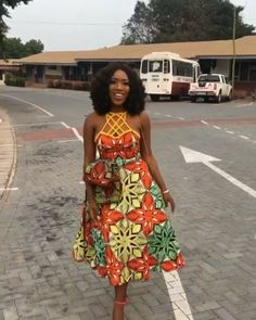 Latest African Fashion Dresses, African Print Fashion, Africa Fashion, African Attire, African Wear, African Dress, Nigerian Outfits, Ankara Dress, African Fabric