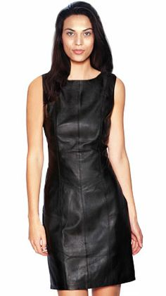 Glamorous Mini Leather Dress for Women