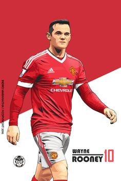 Manchester United Poster, Manchester United Old Trafford, Manchester United Wallpaper, Manchester United Legends, Manchester United Football, Football Art, Football Players, Man Utd Fc, Wayne Rooney
