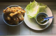 Spring rolls with Nuoc Cham sauce
