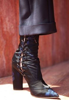 30fe8df98869 velvetrunway  Dior cruise 2016 posted by runway-disease Beautiful Shoes,  Bootie Boots,