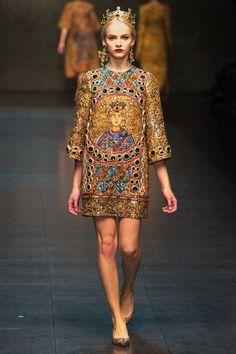 Fall 2013 | Dolce-Gabbana-Fall-2013
