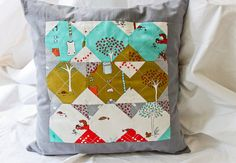 I am completely in love with the apple tree fabric.  I must go find it now!