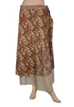 Indian?Recycled Printed Sari Two Layer Sarong « Dress Adds Everyday