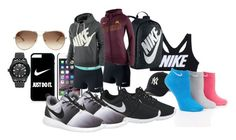 """""""just do it"""" by wakaiti-hoani on Polyvore featuring NIKE, Chloé and adidas Originals"""