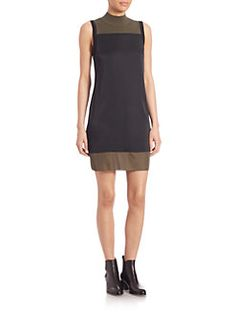 Rag & Bone - Vivienne Colorblock Shift Dress