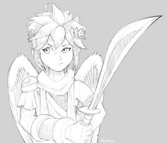 Kid Icarus See More I Have A Feeling That Someone Is Staring At Me Right Now