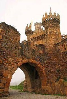 Ponferrada Castle , Leon, Spain.