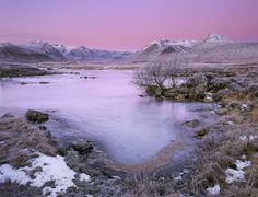 https://flic.kr/p/96R7tE   Kissed By A Rose   Rannoch Moor, Glencoe, Scotland.  Earth Shadow prior to sunrise at Rannoch moor from a favourite wee spot at the edge of Loch N' Achlaise.  Taken on the last winter Glencoe course 2010.  Please view LARGE