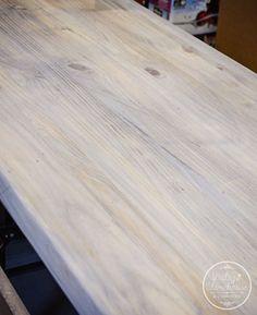 Restoration Hardware Finish Pickled Oak Premixed Grey