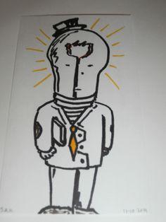 1-1-2015 New year new ideas - All business Lightbulb man