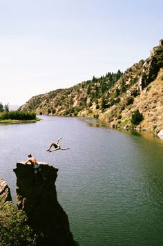 despite a few scarring experiences, i still love cliff jumping.