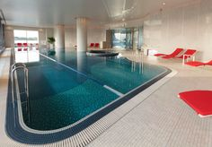 Take a dip in the pool at the design-centric Palace Hotel #Tokyo.