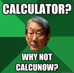 A number of factors make me calculate… sorry.
