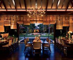 Peter Marino - dining pavilion in Palm Beach