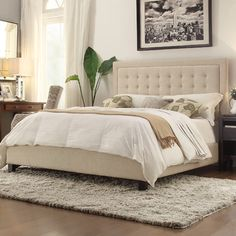 Kingstown Home Aurelia Platform Bed with Euro Slats & Reviews | Wayfair