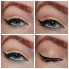 ♥ how to use color eyeliner
