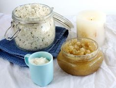 Home Spa Recipes – Vanilla Citrus Sugar Body Scrub http://www.phemomenon.com/home-spa-recipes-body-scrub/ Sure, Mom would love a fancy weekend retreat, but we bet she'll be just as touched by a basket of DIY home-spa goodies. Body scrub will leave her skin feeling soft and smelling sweet