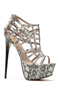 Summer Vacation Faux Snake Platform Stilettos @ Cicihot Heel Shoes online store sales:Stiletto Heel Shoes,High Heel Pumps,Womens High Heel Shoes,Prom Shoes,Summer Shoes,Spring Shoes,Spool Heel,Womens Dress Shoes