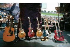 Jimmy's guitars US Tour 1977