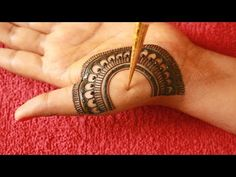 Latest Simple Mehndi Design for Front Hand||Rakhi/Eid 2020 Mehndi Designs||Semi Bridal Mehndi Design - YouTube