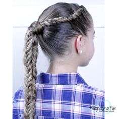 "Search Results for ""mohawk"" – Pretty Hair is Fun – Girls Hairstyle tutorials Search Results for ""moh Side Ponytail Hairstyles, Side Braid Ponytail, Headband Hairstyles, Down Hairstyles, Pretty Hairstyles, Girl Hairstyles, Wedding Hairstyles, Headband Braids, Fishtail Braids"