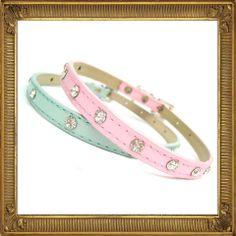 Baby Diamante Dog Collar | Prince and Princess Designer Petwear