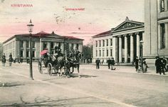 Kristiania Christiania Universitetet brukt 1907