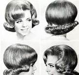 60's hair style we want to forget.