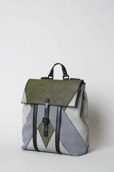 Kenzo Backpack Patchwork - Kenzo Accessories Men - Kenzo E-shop