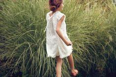 Sweet little girl's frock by Bonpoint.