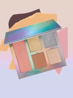 This Prismatic Palette Gives Your Skin An Out-Of-This-World Glow+#refinery29