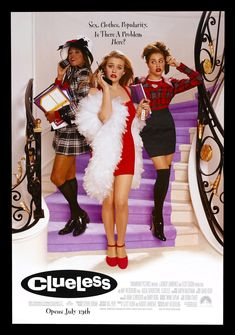 Clueless (1995) Alicia Silverstone, Paul Rudd, Brittany Murphy (1977-2009)