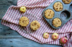 Apple oatmeal crumb