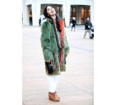 Street looks à la Fashion Week automne-hiver 2013-2014 à New York, Jour 2