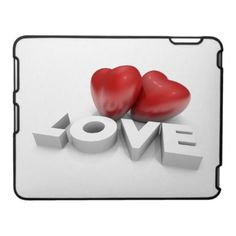 $49.95 Valentine hearts on iPad case