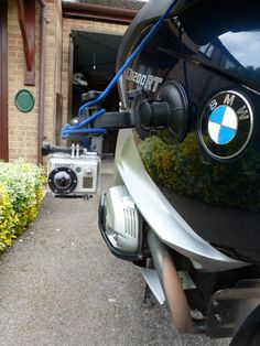 How to fix a GoPro Camera to a BMW R1200RT