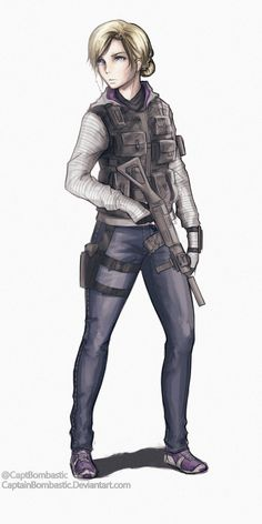 Nice drawning of IQ Rainbow Six Siege Poster, Iq Rainbow Six Siege, Rainbow 6 Seige, Tom Clancy's Rainbow Six, Fantasy Comics, Anime Fantasy, Metal Gear, Pokemon Waifu, Six Girl