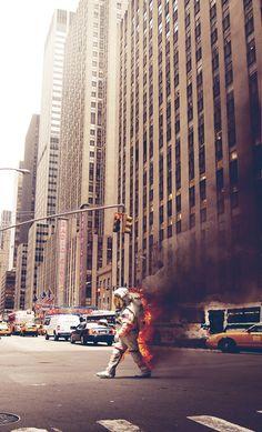 '6th Avenue' x Jack Crossing by Jack Crossing, via Behance