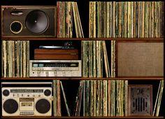 Records, vinyl records...