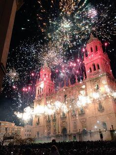 La Navidad comienza en Jaén con un gran espectáculo de luz, música y fuegos artificiales