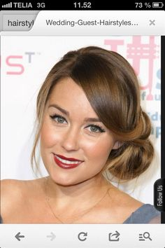 Maybe this wedding guest hairstyle 2