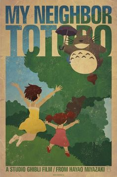 I love all of his Miyazaki prints!  I wish he would do a Howl's Moving Castle one.