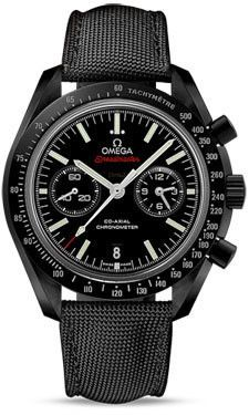 Omega Speedmaster Moonwatch Co-Axial Chronograph 44.25 mm Black Ceramic | juwelier-haeger.de