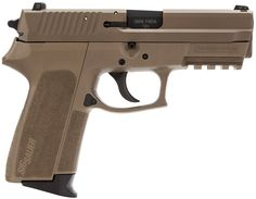 The SIG SAUER® SP2022® is the latest version of our popular polymer framed pistol and features a durable, lightweight and wear-resistant polymer frame with the added tactical versatility of an